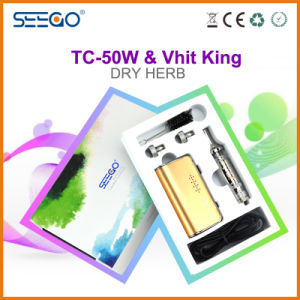 Seego Patented Dry Herb Vaporizer Vhit King+Tc-50W Kit with Huge Vapor pictures & photos