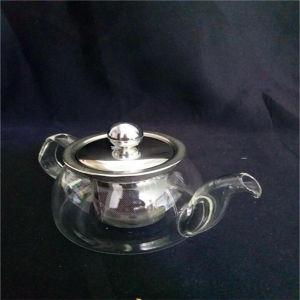 200ml Handblown Heat-Resisting Glass Tea Pot with Ce pictures & photos