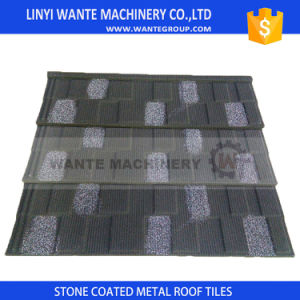 Wante Supplies Roof Tile/ Roof Copper/Sand Coated Metal Roof Tile pictures & photos