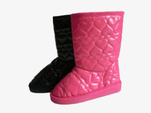 Winter Warm Ladies Girls Soft Snow Boots with PU pictures & photos