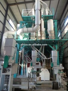 Hba 40t-2400t/24h Wheat Flour Mill with Silo pictures & photos