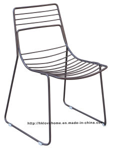 Replica Metal Outdoor Furniture Dining Restaurant Stackable Side Wire Chair pictures & photos