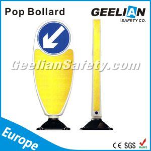 Black Base Bollard Delineator Traffic Flexible Bollards for UK pictures & photos