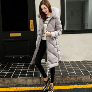 for Retail Top Class Women Warm Winter Coat pictures & photos