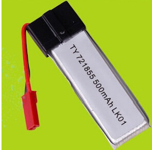 3.7V 721855 500mAh Lk01 Li-Polymer Battery Aircraft Battery Rechargeable Batteries pictures & photos