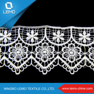 Colorful Flower Lace, Chemical Lace pictures & photos
