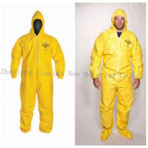 Protective Coverall Material Waterproof PE Lamination Non Woven Fabric pictures & photos