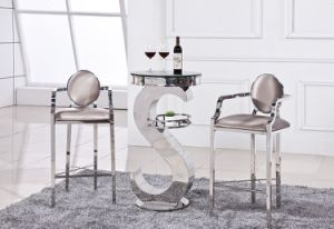 New Modern Tempered Glass Bar Table pictures & photos