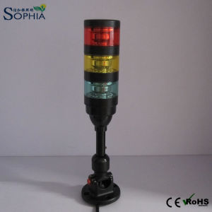 LED Warning Signal Tower Light with or Without Siren pictures & photos