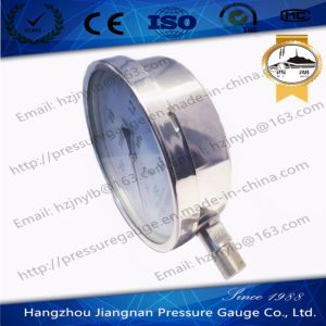 150mm 6′′ Pressure Indicator Full Stainless Steel Pressure Gauge From Verified China Manufacturer pictures & photos