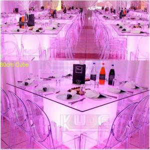 Waterproof LED Cube Furniture PE Plasti⪞ Light up LED Cube pictures & photos