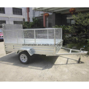 6X4 Galvanised Box Trailer with Ramp pictures & photos