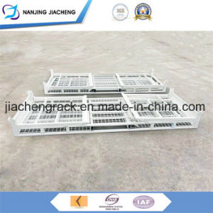 America Machine Produced Quiet Durable Stacking Galvanized Wire Mesh Container pictures & photos
