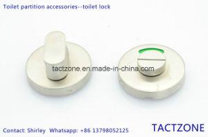 Unique Design Toilet Partition Accessories Precision Casting 304 Lock pictures & photos