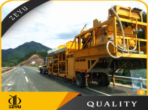 Factory Price Yhzs50 Mobile and Portable Concrete Batching Plant with Good Quality pictures & photos