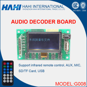 Hot Sale G008 PCBA Circuit MP3 Decoder Board (G008) pictures & photos
