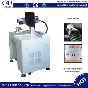 Desktop Fiber Laser Marking Machine for Cola pictures & photos