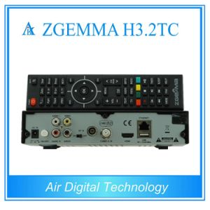 2017 European Hot Sale Multi-Stream Decoder Zgemma H3.2tc Combo Receiver with DVB-S2+2*DVB-T2/C Dual Tuners pictures & photos