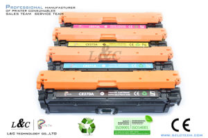 Genuine Color Toner Cartridge 650A (CE270A/271A/272A/273A) for HP Original Printer pictures & photos