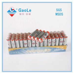 AAA 1.5V R03P Carbon Zinc Battery in Paper Tay pictures & photos