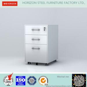 Steel Mobile Indoor Filing Cabinet/Pedestal pictures & photos