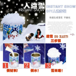 Factory Supply Water Growing Artificial Snow Christmas Snow Educational Toys pictures & photos