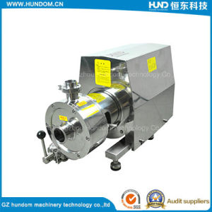 Laboratory Pinelined Movable Emulsification Pump pictures & photos