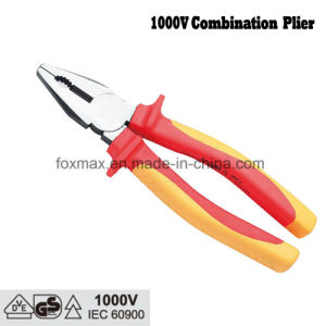 1000V VDE Combination Plier with TPR Handle pictures & photos