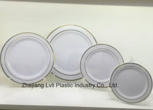 Plastic Plate, Disposable, Tableware, Tray, Dish, Colorful, PS, SGS, Hot Stamp Plate, PA-04 pictures & photos