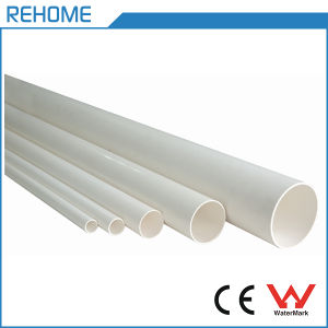 ISO3633 Polyvinyl Chloride 200mm PVC Pipe Sewage Pipe pictures & photos
