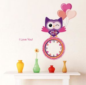 Removable Wall Sticker DIY Clock Design pictures & photos