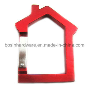 House Shaped Carabiner Key Chain pictures & photos
