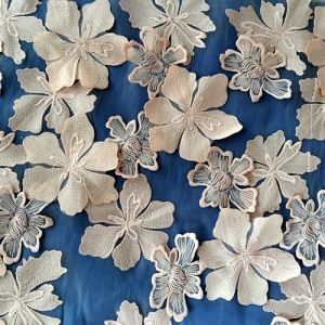 Fashion Embroidered Fabric Lace for Garment Dress pictures & photos