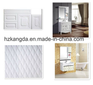 Fashionable White Embossed PVC Panels PVC Model Sheet for Advertisement. pictures & photos