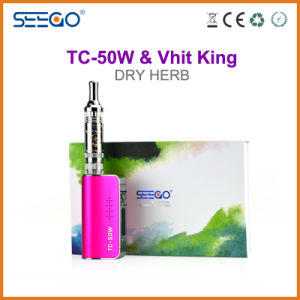 Seego Dry Herb Vaporizer Vhit King+Tc-50W Kit with Huge Vapor pictures & photos