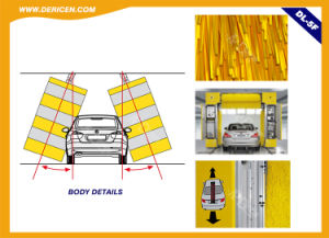Dericen Dl5f Rollover Automatice Car Wash Machine with 5 Brushes and Dry Function pictures & photos