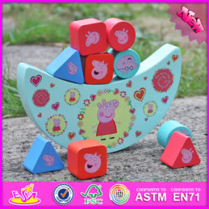 2017 Wholesale Cheap Wooden Balance Toys for Toddlers, Educational Wooden Balance Toys for Toddlers W11f066 pictures & photos