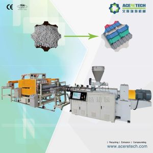 Conical Two Screw Extruder for Glazed Tile Production pictures & photos