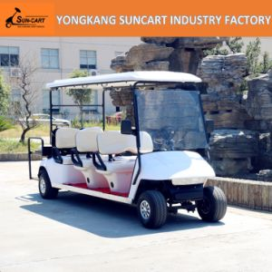 8 Seater Ce Approved Club Hotel Car Electric Vehicle Golf Cart for Sale, 6+2 Seater Electric Car pictures & photos