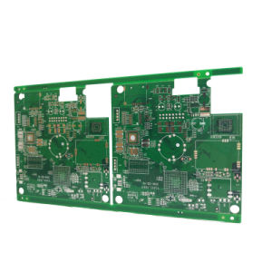 4 Layer Custom PCB Blind Buried Via for GPS Positioning System pictures & photos