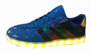 Low MOQ Factory Price LED Sport Shoes pictures & photos