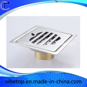 Wholesale Cheap Price Bathroom Toilet Stainless Steel Floor Drainer pictures & photos