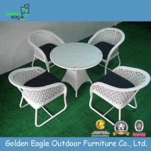 Popular Flower Weaving Rattan Hotel Furniture