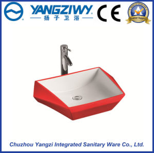 Ceramic Sanitary Ware Art Basin (YZ1309)
