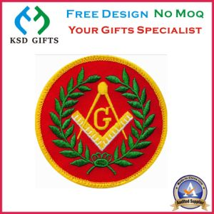 Hotsell Stock Masonic Embroidery Patch pictures & photos