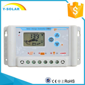 30A 36V/48V/60V Li Battery+Light Control Solar Controller SL03-4810A pictures & photos