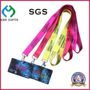Polyester Custom Printing Woven/Satin/Nylon Neck Lanyard for Advertising pictures & photos