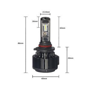 Auto Parts 35W Philips Csp LED T6 9006 Car Light Bulbs pictures & photos