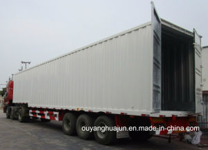 Van Type Container Semitrailer pictures & photos