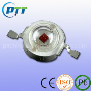 Red Color 1W High Power LED, 620-625nm, 50lm, Epistar Chips pictures & photos